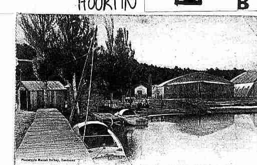 Ville de HOURTIN Carte postale ancienne