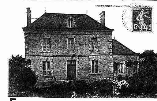 Ville de INGRANDESDETOURAINE Carte postale ancienne
