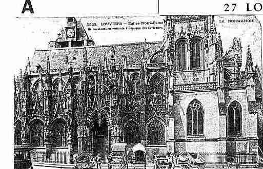 Saintlegerdugennetey photo et carte postale for Piscine de louviers