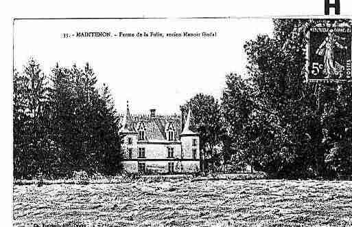 Ville de MAINTENON Carte postale ancienne