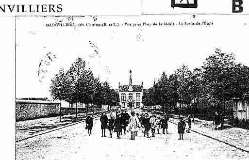 Ville de MAINVILLIERS Carte postale ancienne