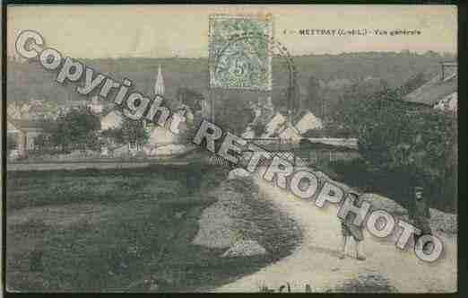 Ville de METTRAY Carte postale ancienne