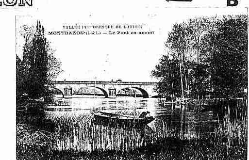 Ville de MONTBAZON Carte postale ancienne