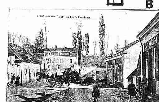 Ville de MONTHOUSURCHER Carte postale ancienne