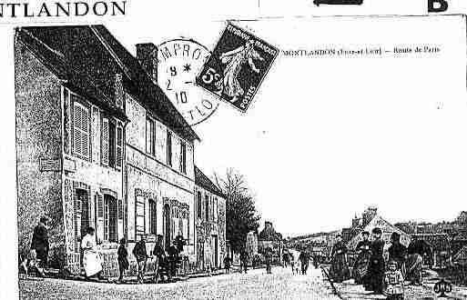 Ville de MONTLANDON Carte postale ancienne