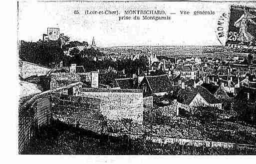 Ville de MONTRICHARD Carte postale ancienne