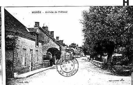 Ville de MOREE Carte postale ancienne