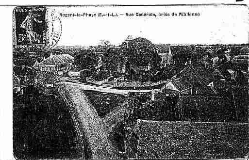 Ville de NOGENTLEPHAYE Carte postale ancienne