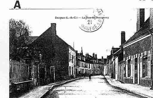 Ville de OUCQUES Carte postale ancienne