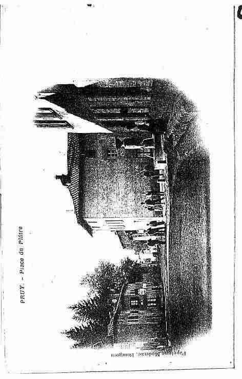 Ville de Presles, PH027580-B. Photo éditée d'une carte postale ancienne