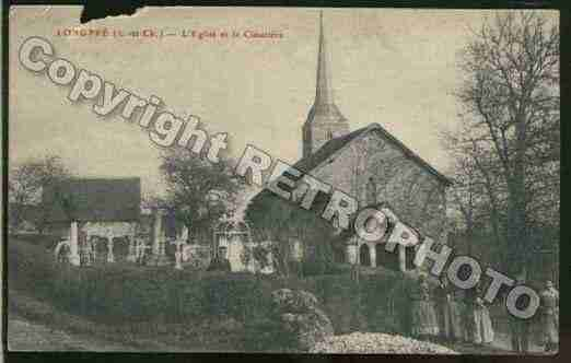 Ville de SAINTAMANDLONGPRE Carte postale ancienne