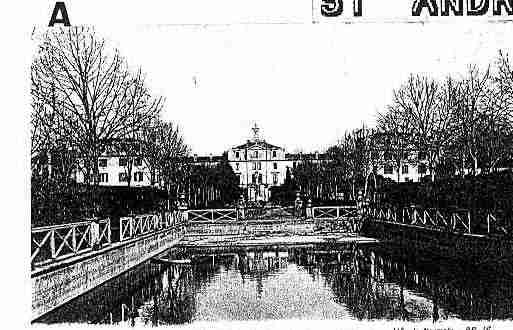 Ville de SAINTANDREDECUBZAC Carte postale ancienne