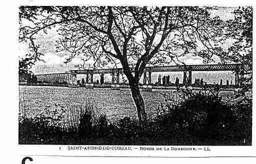 Ville de SAINTANDREDUBOIS Carte postale ancienne