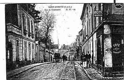 Ville de SAINTAVERTIN Carte postale ancienne