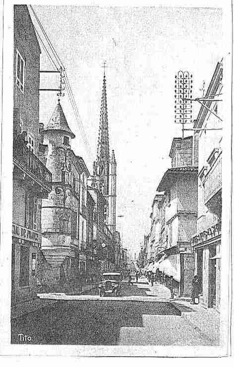 Ville de SAINTEFOYLAGRANDE Carte postale ancienne