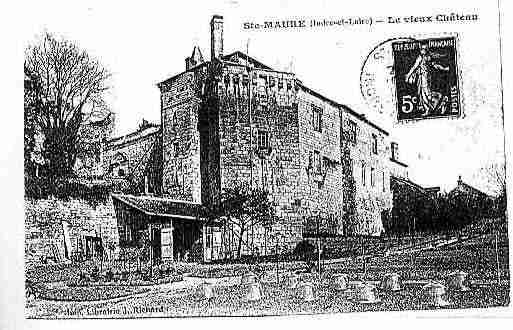 Ville de SAINTEMAUREDETOURAINE Carte postale ancienne