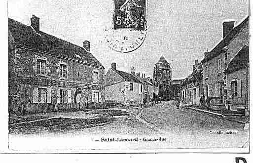 Ville de SAINTLEONARDENBEAUCE Carte postale ancienne