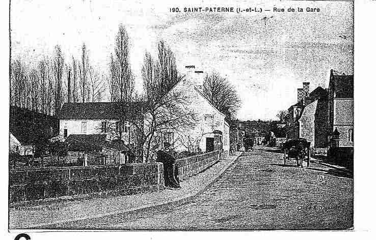 Ville de SAINTPATERNERACAN Carte postale ancienne