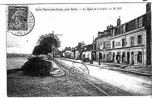 Ville de saintpierredescorps ph026735 d clich s partir d 39 une carte po - Hormann st pierre des corps ...