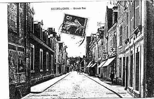 Ville de SELLESSURCHER Carte postale ancienne