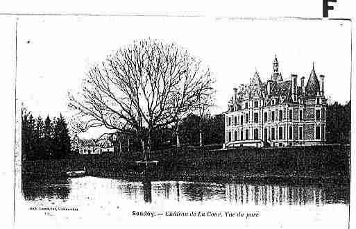 Ville de SOUDAY Carte postale ancienne