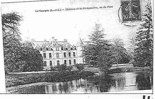 Ville de TEMPLE(LE) Carte postale ancienne