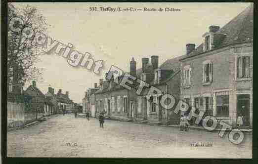 Ville de THEILLAY Carte postale ancienne