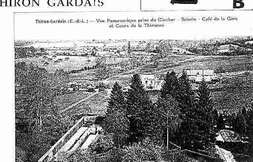 Ville de THIRONGARDAIS Carte postale ancienne