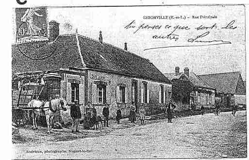 Ville de TREMBLAYLESVILLAGES Carte postale ancienne