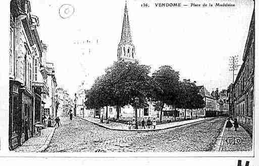 Ville de VENDOME Carte postale ancienne