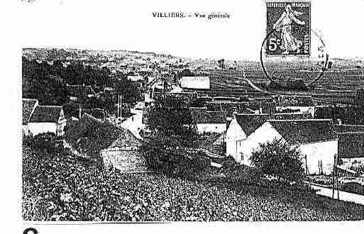 Ville de VILLIERSSURLOIR Carte postale ancienne