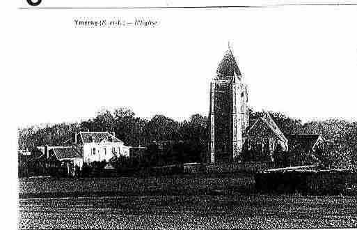 Ville de YMERAY Carte postale ancienne