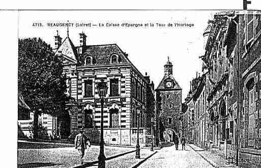 Ville de BEAUGENCY Carte postale ancienne