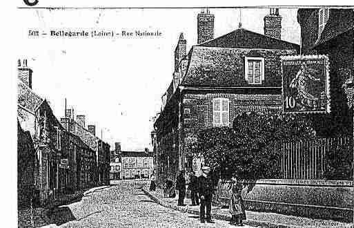 Ville de BELLEGARDE Carte postale ancienne