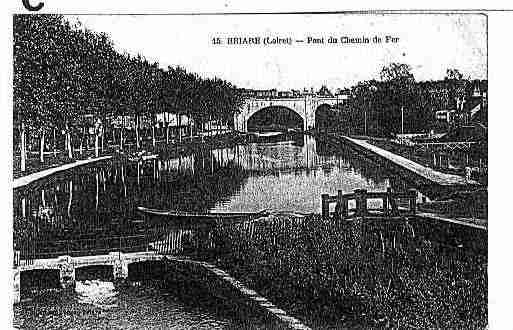 Ville de BRIARE Carte postale ancienne