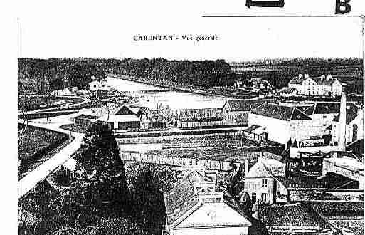 Ville de CARENTAN Carte postale ancienne