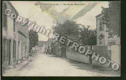 Ville de CERNOYENBERRY Carte postale ancienne