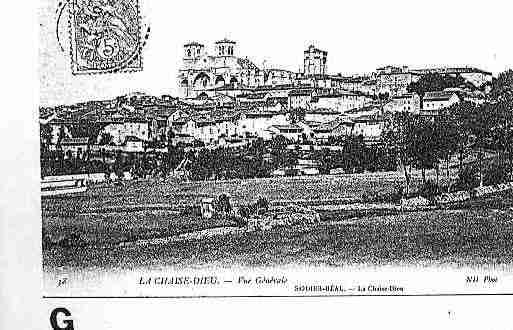 Ville de CHAISEDIEU(LA) Carte postale ancienne