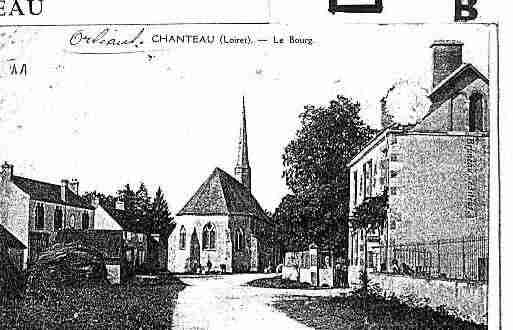 Ville de CHANTEAU Carte postale ancienne