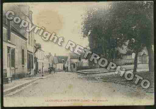 Ville de CHAPELLESURAVEYRON(LA) Carte postale ancienne