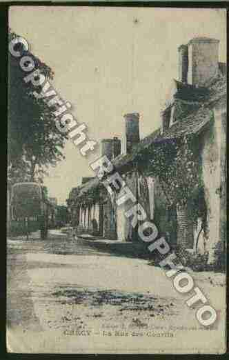 Ville de CHECY Carte postale ancienne