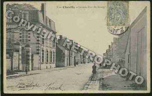 Ville de CHEVILLY Carte postale ancienne