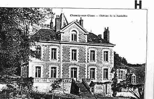 Ville de CHOUZYSURCISSE Carte postale ancienne