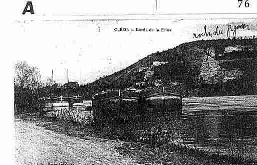 Ville de CLEON Carte postale ancienne