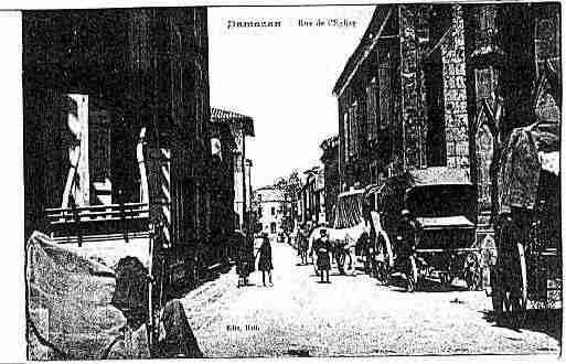 Ville de DAMAZAN Carte postale ancienne