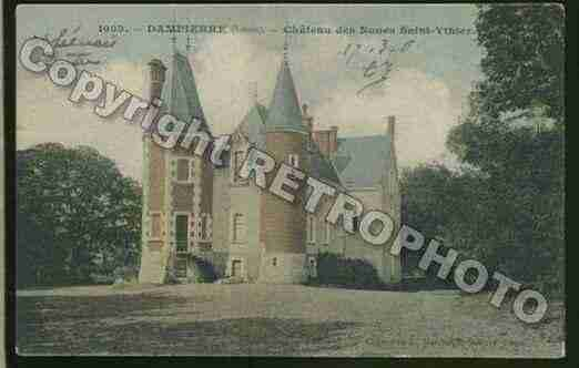 Ville de DAMPIERREENBURLY Carte postale ancienne