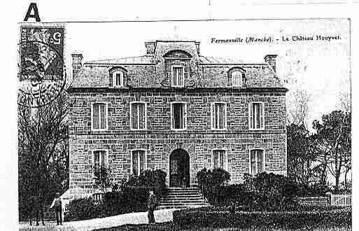 Ville de FERMANVILLE Carte postale ancienne