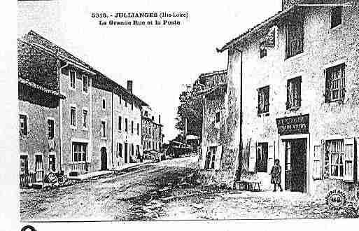 Ville de JULLIANGES Carte postale ancienne