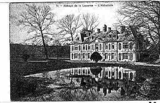 Ville de LUCERNED\'OUTREMER(LA) Carte postale ancienne