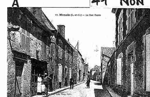 Ville de NONIDENTIFIES Carte postale ancienne